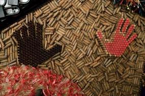 Shells fired from an AK-47 rifle